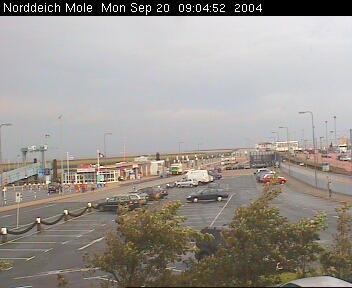 norddeich mole bahnhof webcam